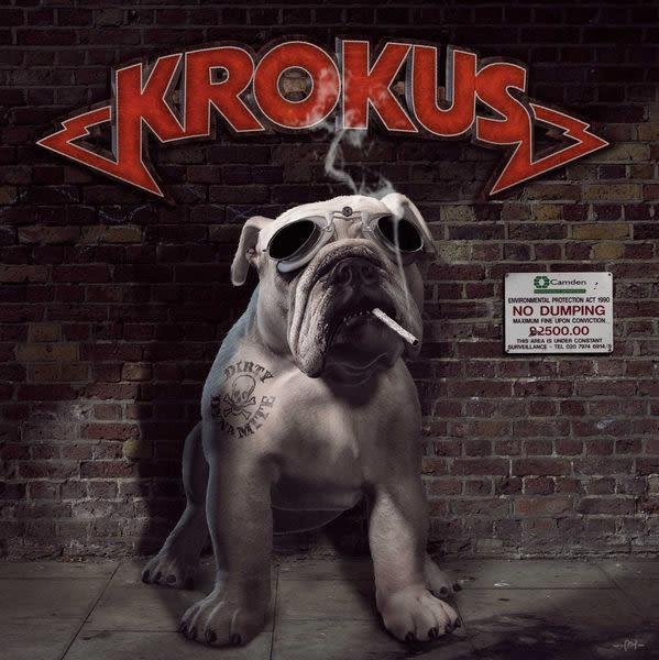 克羅卡斯樂團 超級破壞王 CD Krokus  Dirty Dynamite  (購潮8)