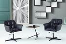 【南洋風傢俱】房間椅洽談椅系列-胡桃小茶几休閒桌椅組 CX896-1 CX607-2