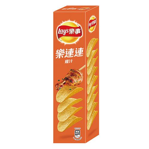 LAY S樂事分享包洋芋片-雞汁108g【愛買】