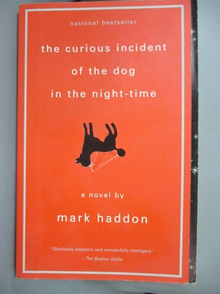 【書寶二手書T5/原文小說_HCD】Curious Incident of the Dog 深夜小狗神秘習題_MARK