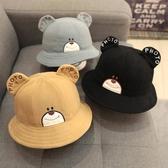 男寶寶帽子秋冬季1-3歲2潮男童韓版兒童漁夫帽小孩4個性0男孩韓國 芊惠衣屋