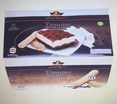 [COSCO代購] W604359 Gildo Rachelli 冷凍提拉米蘇 500公克 X 2入 兩入