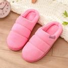 棉拖鞋女居家室內冬季保暖軟底月子鞋厚底防...