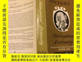 二手書博民逛書店Voltaire罕見Philosophical Dictiona