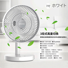 SANSUI山水 7吋桌上型充電風扇SHF-K89【愛買】