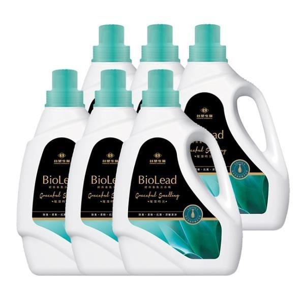 【南紡購物中心】《台塑生醫》BioLead經典香氛洗衣精 璀璨時光2kg(6瓶)