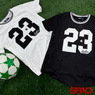 韓國品牌/SPAO女款休閒球衣LOGO T恤-共2色