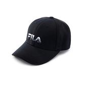 FILA 漸層款 LOGO棒球帽 黑色 HTV-5001-BK 【KAORACER】