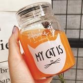 玻璃水杯可愛耐熱創意茶杯