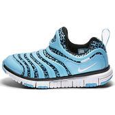 Nike Dynamo Free 男 女 孩 中童鞋 水藍 豹紋 兒童 毛毛蟲鞋 運動鞋 834365402