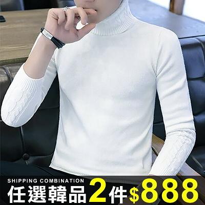 任選2件888針織衫韓版高領線衣個性針織衫【08B-B1995】