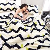冬季珊瑚絨毛毯法蘭絨單人床單加厚