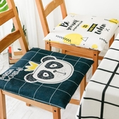 雙面貓咪坐墊 加厚防滑餐椅墊 四季通用坐墊透氣沙發墊