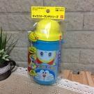 日本製 哆啦A夢 彈跳吸管水壺450ml(附背帶)-超級baby