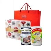 【康健生機】沖調養生禮盒組(康健生機 沖調養生禮盒+純濃鮮豆奶)