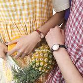 手錶韓版百搭復古單品細帶小錶盤圓形PU皮手錶腕錶學生女 貝芙莉女鞋
