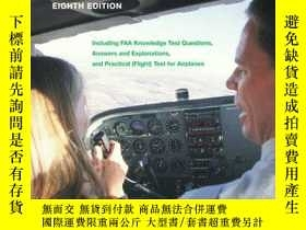 二手書博民逛書店The罕見Student Pilots Flight Manual: Including FAA Knowledg