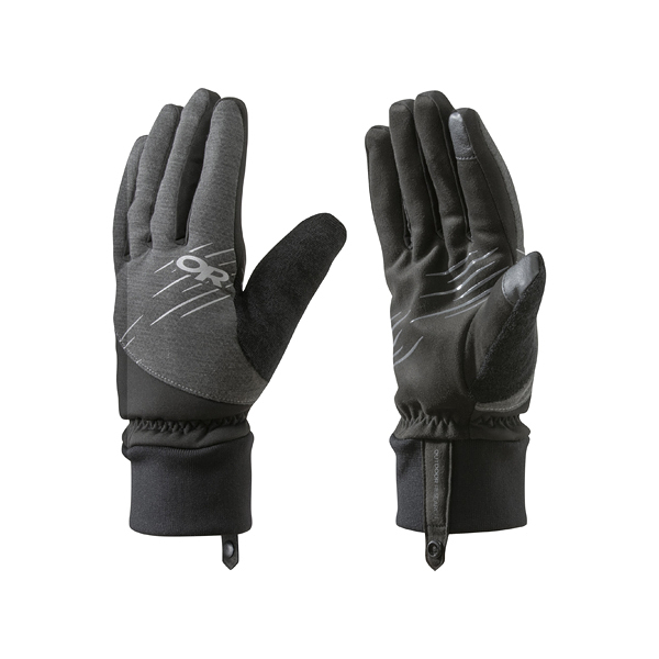 [OUTDOOR RESEARCH] (女) Pacesetter Sensor Gloves 保暖觸控手套 黑 (OR253955-0001)