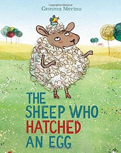 【麥克書店】THE SHEEP WHO HATCHED AN EGG/英文繪本 《主題:自我認同》 (中譯:綿羊孵蛋)