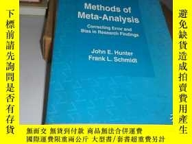 二手書博民逛書店Methods罕見of Meta-Analysis~ Corre