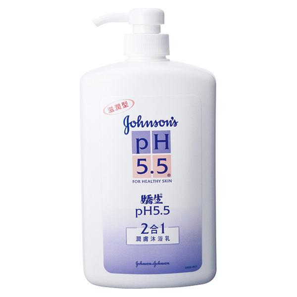 嬌生pH5.5沐浴乳(2合1)1000ml 【商品缺貨中、預計九月底到貨】