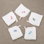 寶寶口水巾嬰兒紗布毛巾洗臉新生兒童用品超軟純棉小方巾幼兒紗巾