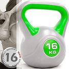 運動16公斤壺鈴(35.2磅)競技16KG壺鈴.拉環啞鈴搖擺鈴.舉重量訓練用品.重力設備健身器材KettleBell