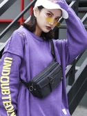 胸包女2019新款韓版小包包百搭時尚潮ins街頭單肩斜挎運動腰包女