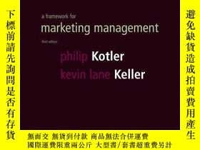 二手書博民逛書店Framework罕見For Marketing Management (3rd Edition)-營銷管理框架(