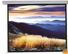 《名展影音》鋁合金外殼白色時尚 晶美 EA系列 100吋 EA 84 x84電動布幕 1:1比例