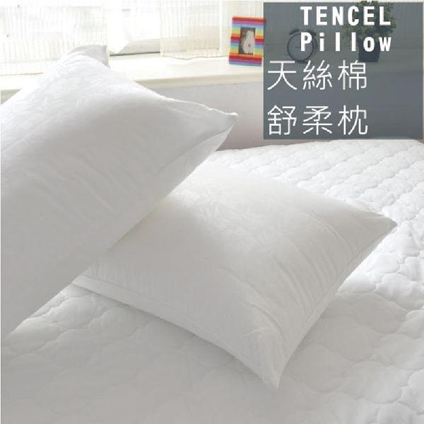 枕芯 - 天絲健康枕 [吸濕排汗 防蟎抗菌] 寢居樂 MIT台灣製