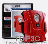 車載充氣泵電動小轎車便攜式汽車輪胎多功能12v車用打氣泵「Top3c」