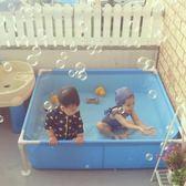 小號嬰兒童游泳池家用室內寶寶游泳池戶外戲水池擺攤釣魚池養魚池  名購居家 igo