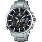 CASIO卡西歐EDIFICE 3D地球藍牙智慧腕錶  EQB-600D-1