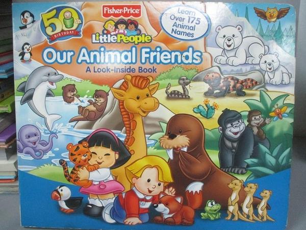 【書寶二手書T3/少年童書_E19】Our Animal Friends_Reader's Digest Association (COR)