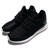 【四折特賣】adidas 休閒鞋 Tubular Radial 黑 白 基本款 運動鞋 男鞋 【PUMP306】 AQ6723