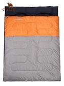 戶外雙人睡袋 旅行露營耐潮防寒保暖便攜式室內隔臟大人睡袋 ATF 奇妙商鋪