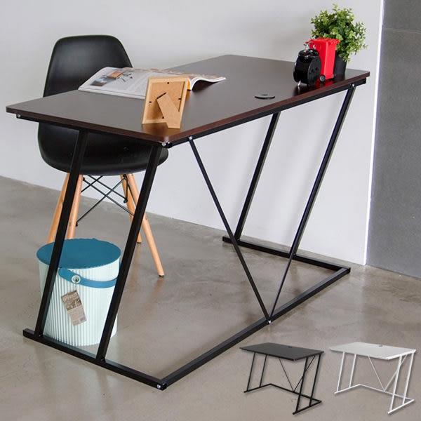 工業風 書桌 電腦桌 辦公桌 電腦椅【J0084】Z字型電腦桌120x60x75cm MIT台灣製ac  收納專科