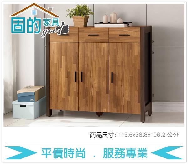 《固的家具GOOD》486-4-AJ 巴菲特4尺鞋櫃【雙北市含搬運組裝】