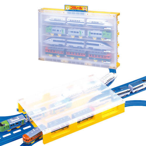 ★funbox玩具★火車收藏箱◎PLARAIL鐵路王國系列_ TP56383
