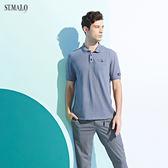 【ST.MALO】尊爵品味XT2男POLO衫-1959MP-堡壘灰