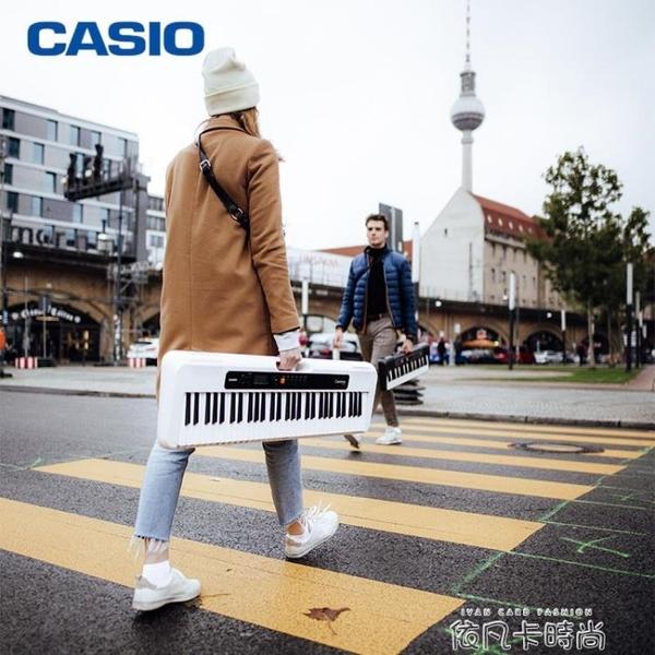 卡西歐電子琴CT-S100/S200/S30061鍵初學兒童成人入門教學數碼QM 依凡卡時尚