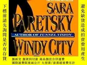 二手書博民逛書店Windy罕見City Blues (v.i. Warshawski Novels)Y256260 Sara