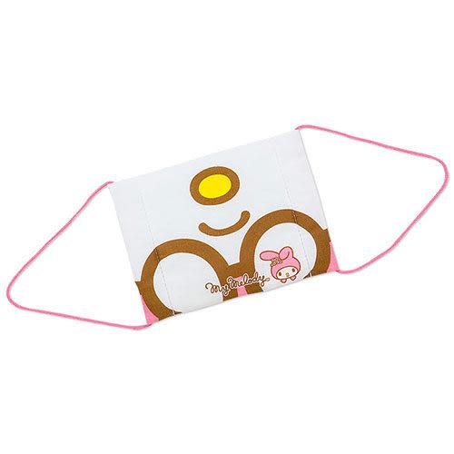【震撼精品百貨】My Melody 美樂蒂~美樂蒂俏皮裝扮紗布口罩(女性可用)