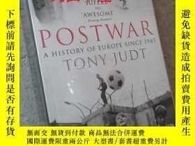 二手書博民逛書店Post罕見War (A History of Europe S