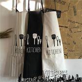 廚房圍裙廚房家居做飯清潔全棉護衣「潮咖地帶」