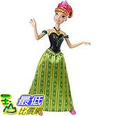 [美國直購] Disney CJJ08 會唱歌 安娜 芭比娃娃 Frozen Singing Anna Doll 迪士尼 冰雪奇緣