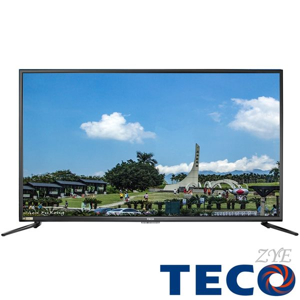 《促銷+送安裝》TECO東元 50吋TL50U2TRE 4K 60P液晶顯示器附視訊盒(無聯網功能)