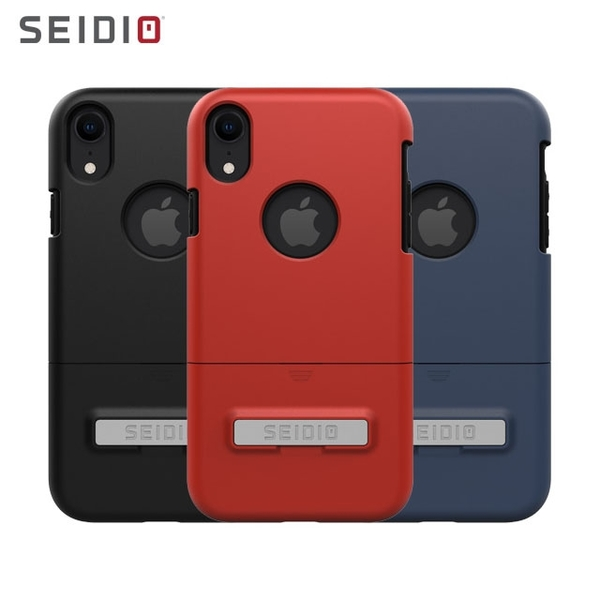 【SEIDIO】SURFACE雙層手機殼/輕薄款/保護殼推薦/都會時尚雙色保護殼for Apple iPhoneXR