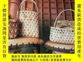二手書博民逛書店Rare!罕見Rattan Tote Bag book Craft book from Japan Japanes